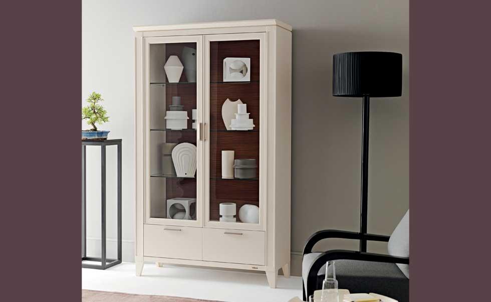Mobili soggiorno classico una scelta senza tempo arredamenti grossi parma - Vetrine moderne per sala da pranzo ...