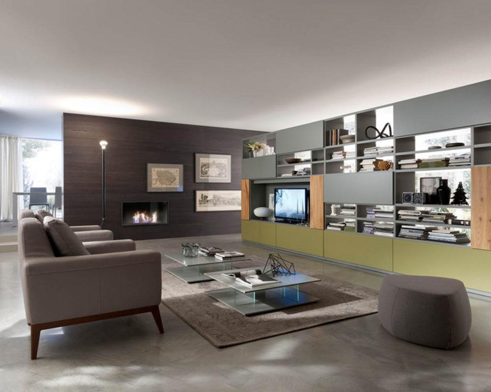 Arredo soggiorno mobili zona giorno arredamenti grossi for Parma arredamenti